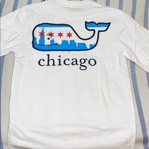 Men's Vineyard Vines Long-sleeve Chicago T-shirt